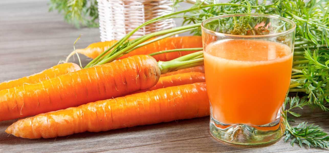 Jugo de Zanahoria Para Una Piel Bella