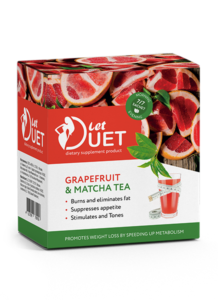 Let Duet Grapefruit & Matcha Tea
